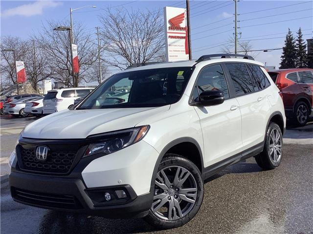 2021 Honda Passport EX-L (Stk: 11-21398) in Barrie - Image 1 of 25