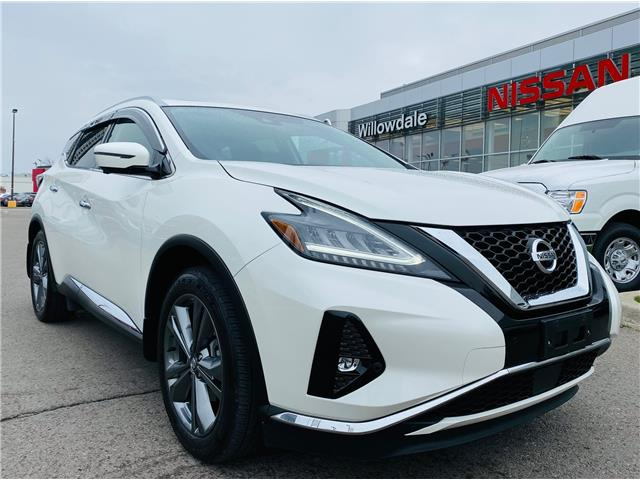 2019 Nissan Murano Platinum (Stk: N1923A) in Thornhill - Image 1 of 21