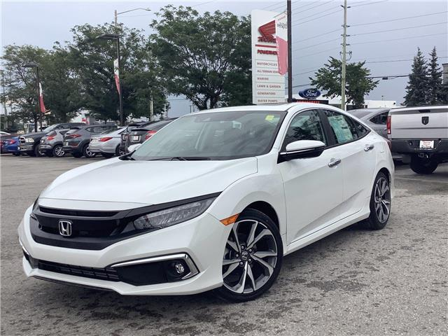 2021 Honda Civic Touring (Stk: 11-21434) in Barrie - Image 1 of 22