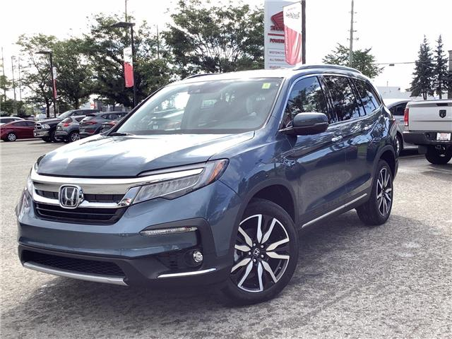2021 Honda Pilot Touring 7P (Stk: 11-21354) in Barrie - Image 1 of 26