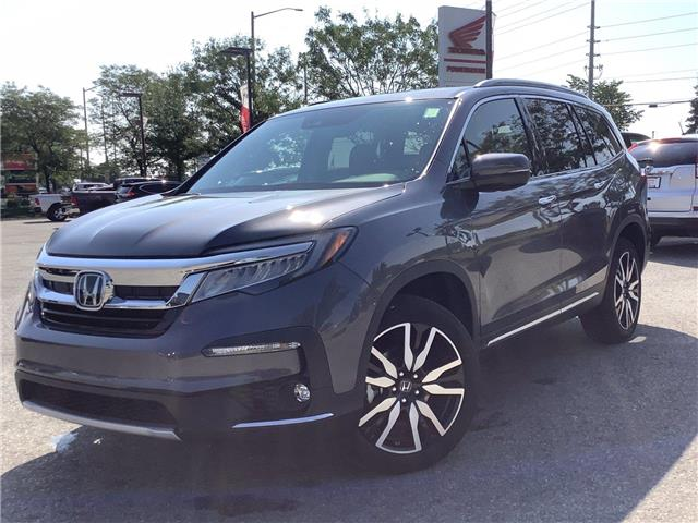 2021 Honda Pilot Touring 8P (Stk: 11-21332) in Barrie - Image 1 of 25
