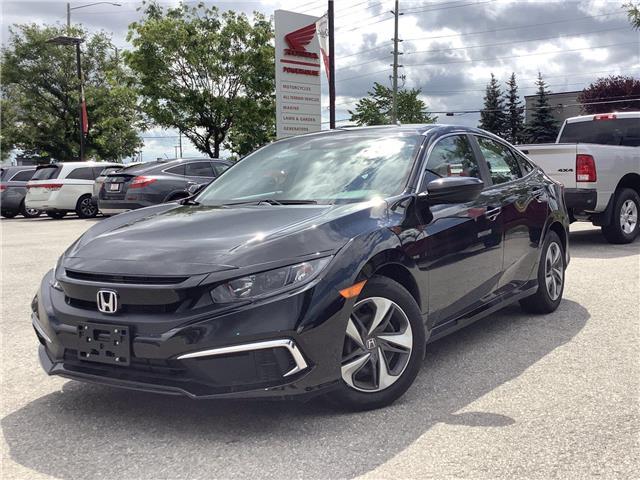 2021 Honda Civic LX (Stk: 11-21535) in Barrie - Image 1 of 19