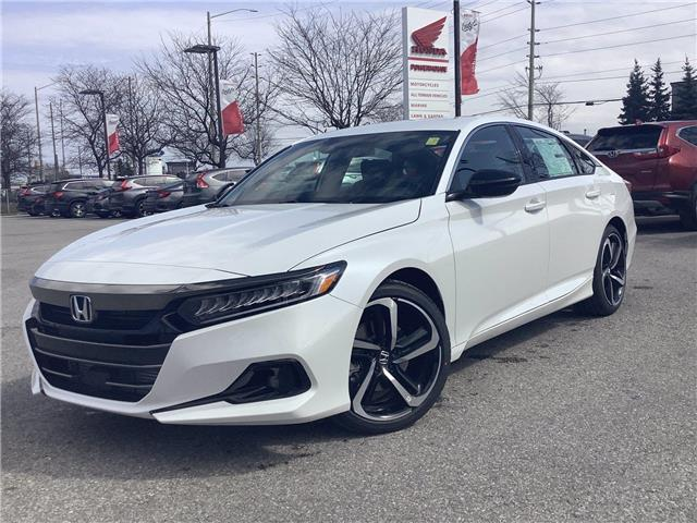 2021 Honda Accord SE 1.5T (Stk: 11-21497) in Barrie - Image 1 of 20