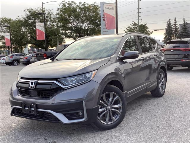 2021 Honda CR-V Sport (Stk: 11-21522) in Barrie - Image 1 of 28