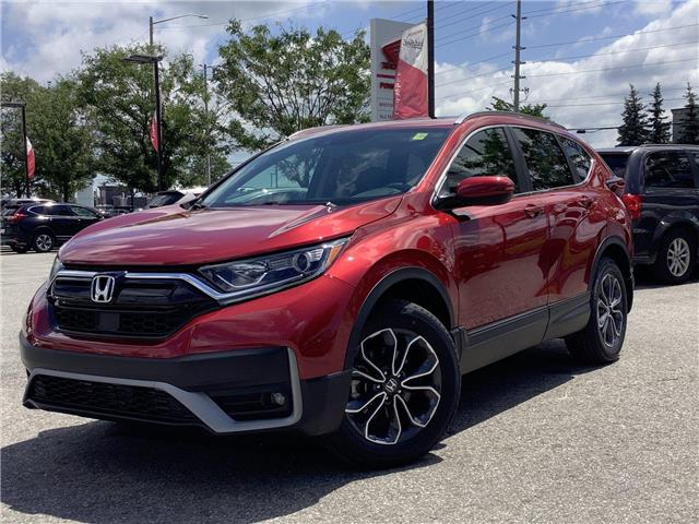 2021 Honda CR-V EX-L (Stk: 11-21527) in Barrie - Image 1 of 30