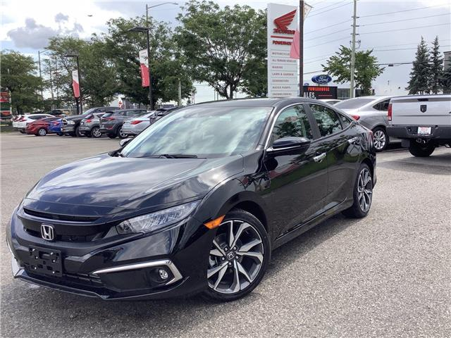 2021 Honda Civic Touring (Stk: 11-21489) in Barrie - Image 1 of 19