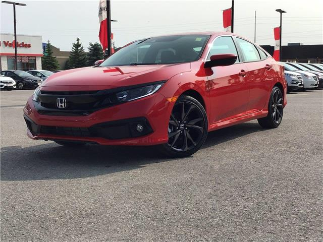 2021 Honda Civic Sport (Stk: 11-21436) in Barrie - Image 1 of 19