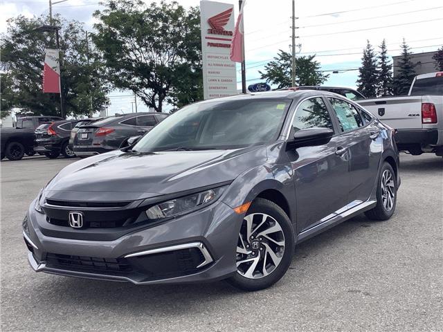 2021 Honda Civic EX (Stk: 11-21562) in Barrie - Image 1 of 23
