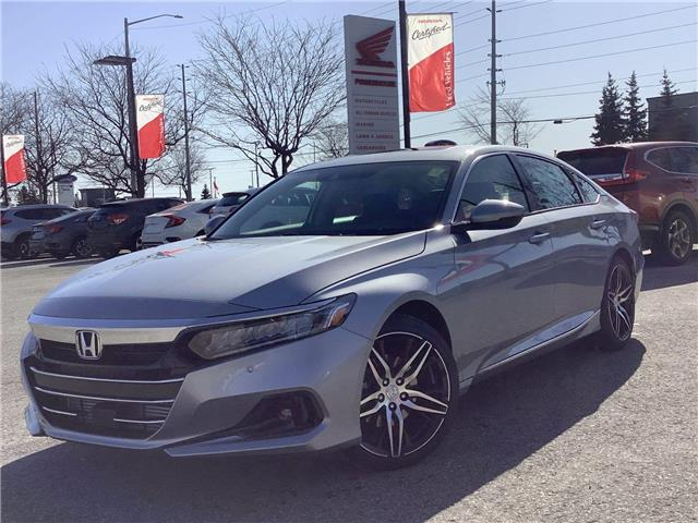 2021 Honda Accord Touring 1.5T (Stk: 11-21469) in Barrie - Image 1 of 30