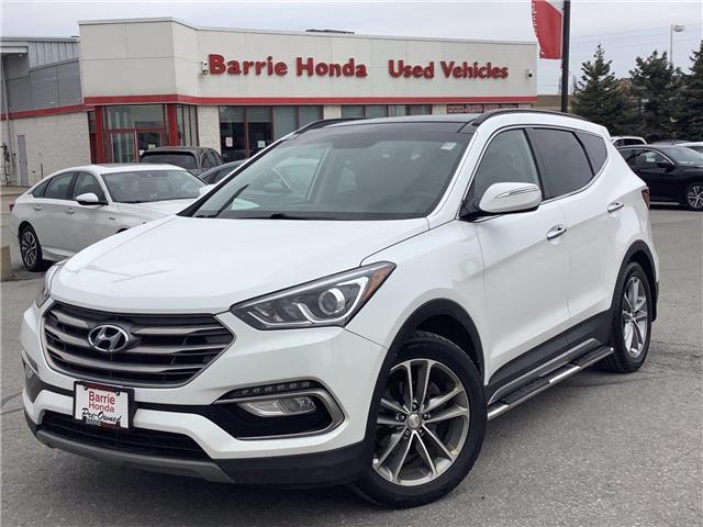 2017 Hyundai Santa Fe Sport 2.0T Limited (Stk: 11-U17472) in Barrie - Image 1 of 24