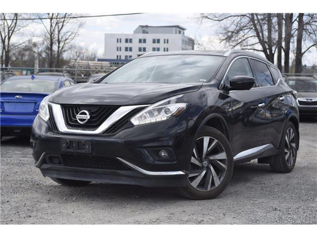 2015 Nissan Murano Platinum (Stk: 18-P2462A) in Ottawa - Image 1 of 26