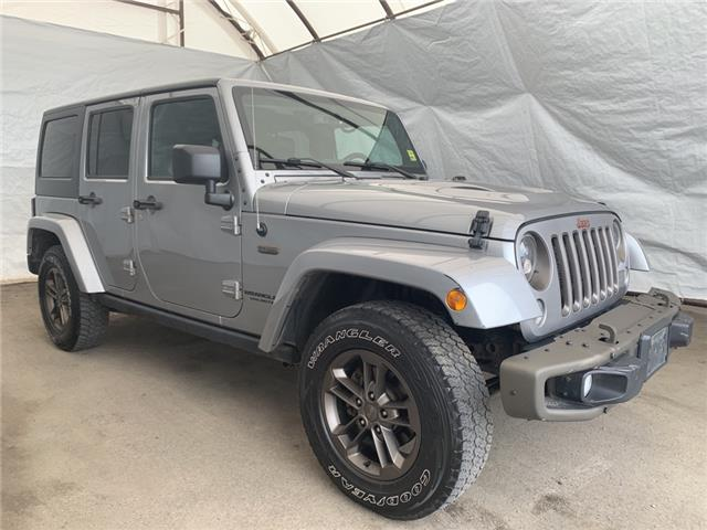 2017 Jeep Wrangler Unlimited Sahara (Stk: 2112702) in Thunder Bay - Image 1 of 14