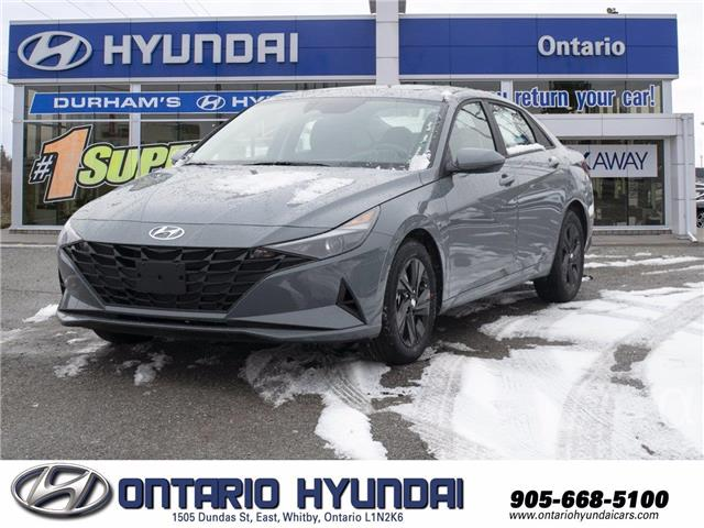 2021 Hyundai Elantra Preferred w/Sun & Tech Pkg (Stk: 13-069961) in Whitby - Image 1 of 20