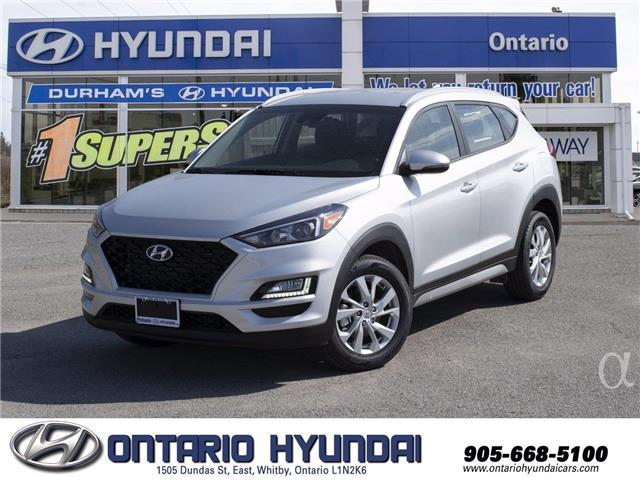 2021 Hyundai Tucson Preferred w/Sun & Leather Package (Stk: 13-380833) in Whitby - Image 1 of 20