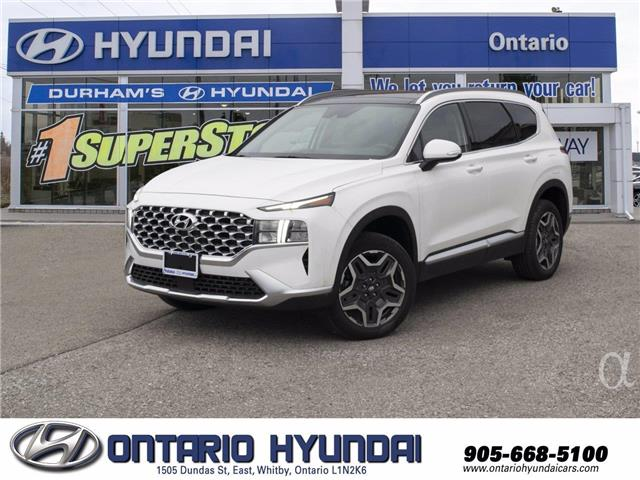 2021 Hyundai Santa Fe HEV Preferred w/Trend Package (Stk: 13-003537) in Whitby - Image 1 of 18