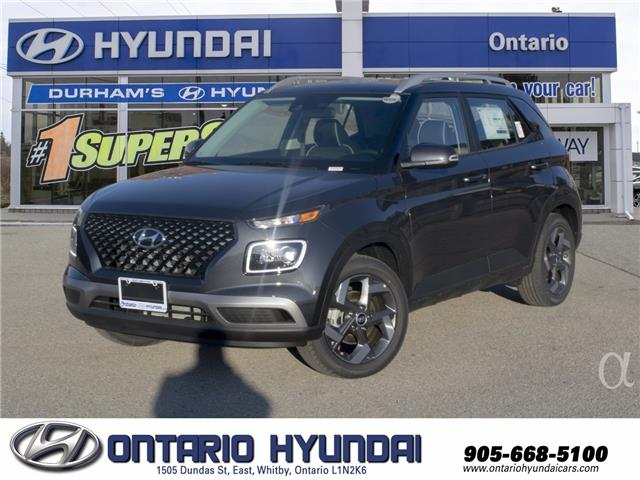 2021 Hyundai Venue Ultimate w/Black Interior (IVT) (Stk: 13-101343) in Whitby - Image 1 of 20