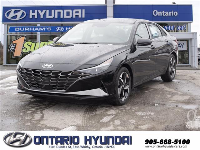 2021 Hyundai Elantra Ultimate Tech (Stk: 13-146910) in Whitby - Image 1 of 20