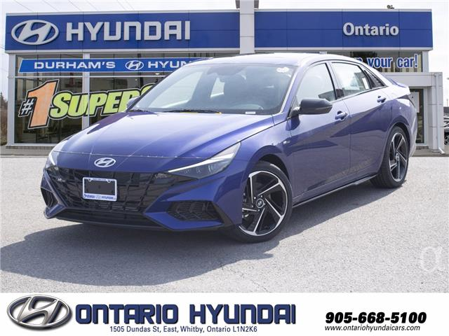 2021 Hyundai Elantra N Line (Stk: 13-147595) in Whitby - Image 1 of 19
