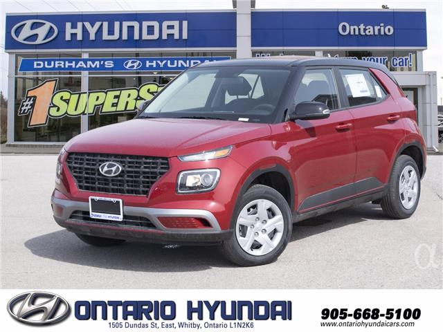 2021 Hyundai Venue Essential w/Two-Tone (Stk: 13-085949) in Whitby - Image 1 of 17