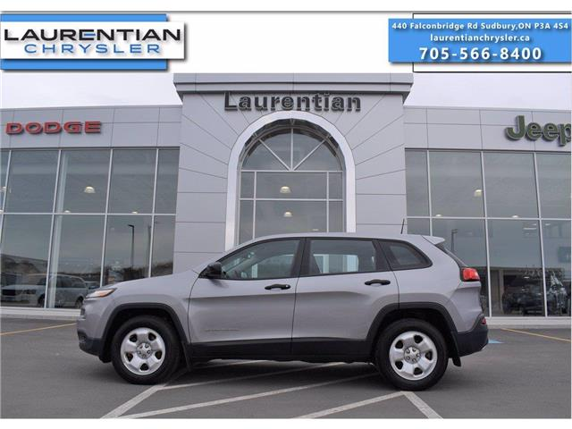 2016 Jeep Cherokee Sport (Stk: 21048A) in Greater Sudbury - Image 1 of 26