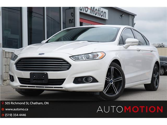 2016 Ford Fusion SE (Stk: 21726) in Chatham - Image 1 of 24