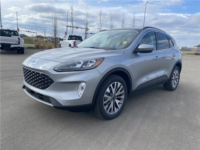 2021 Ford Escape Titanium Hybrid (Stk: MSC007) in Fort Saskatchewan - Image 1 of 23