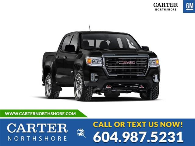New 2021 GMC Canyon AT4 w/Leather  - North Vancouver - Carter GM North Shore