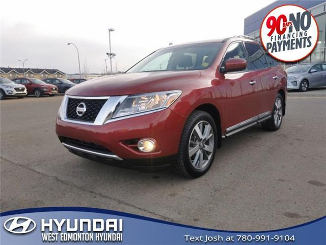2013 Nissan Pathfinder Platinum (Stk: 13732B) in Edmonton - Image 1 of 23