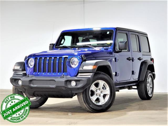 2019 Jeep Wrangler Unlimited Sport (Stk: D2022a) in Saskatoon - Image 1 of 17
