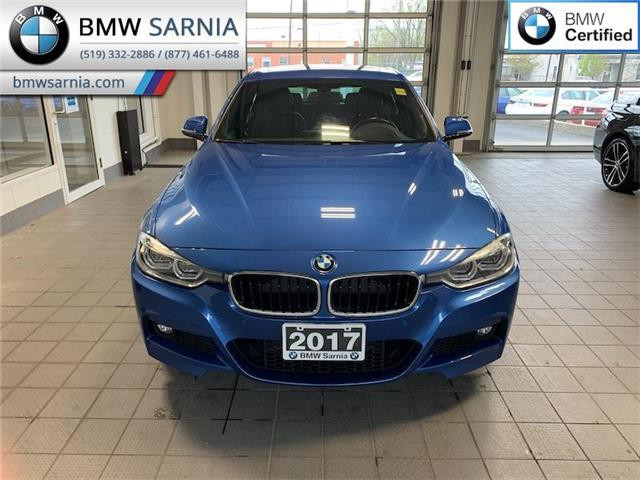 2017 BMW 330i xDrive (Stk: BU873) in Sarnia - Image 1 of 10