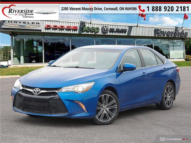 2016 Toyota Camry SE (Stk: W04007) in Cornwall - Image 1 of 27