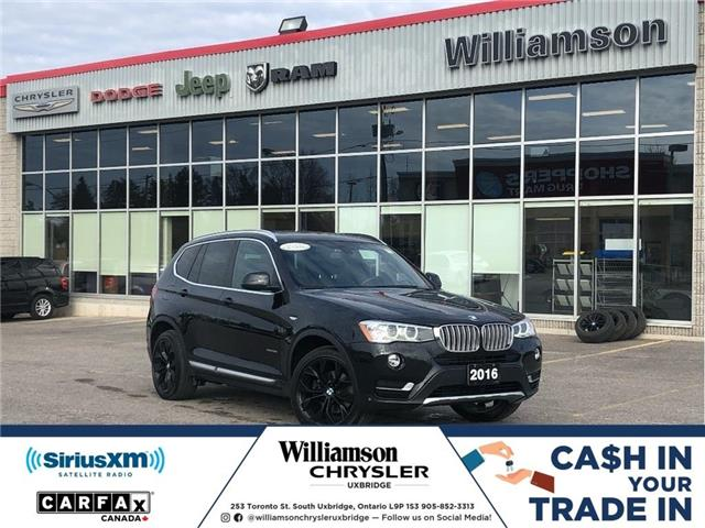 2016 BMW X3 xDrive28i (Stk: W6685) in Uxbridge - Image 1 of 22