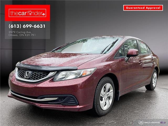 2013 Honda Civic LX (Stk: ) in Ottawa - Image 1 of 24