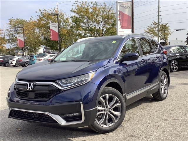 2021 Honda CR-V Touring (Stk: 11-21374) in Barrie - Image 1 of 27