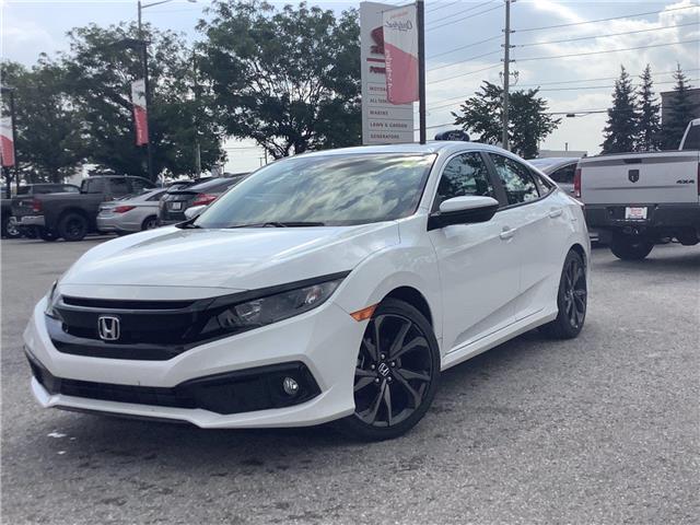 2021 Honda Civic Sport (Stk: 11-21635) in Barrie - Image 1 of 22
