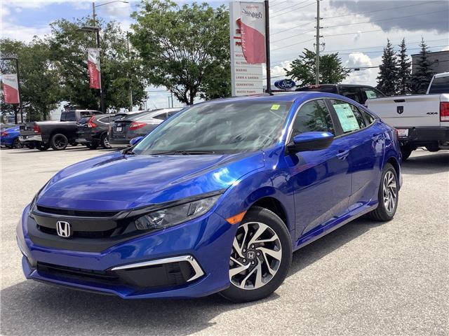 2021 Honda Civic EX (Stk: 11-21615) in Barrie - Image 1 of 24