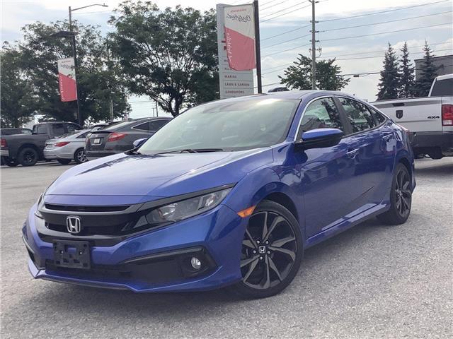 2021 Honda Civic Sport (Stk: 11-21633) in Barrie - Image 1 of 22