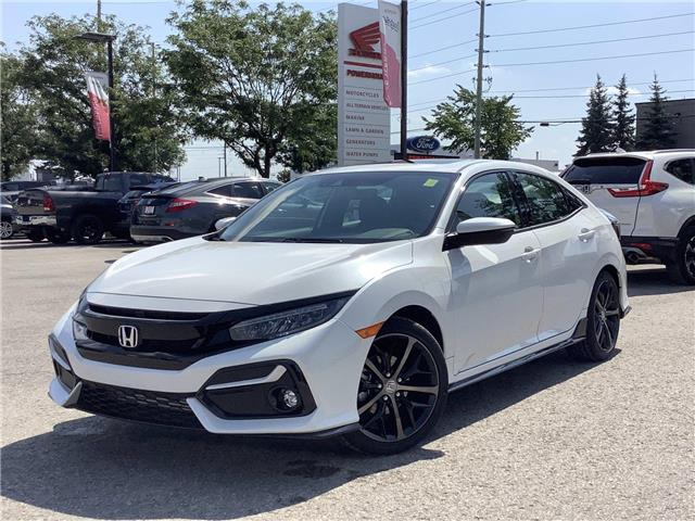 2021 Honda Civic Sport Touring (Stk: 11-21622) in Barrie - Image 1 of 21