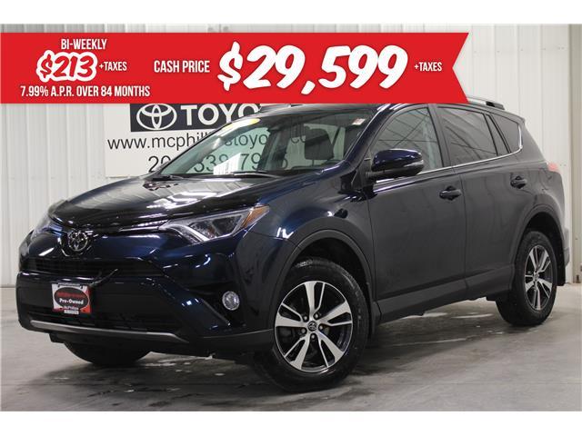 2018 Toyota RAV4 XLE (Stk: W103463A) in Winnipeg - Image 1 of 26