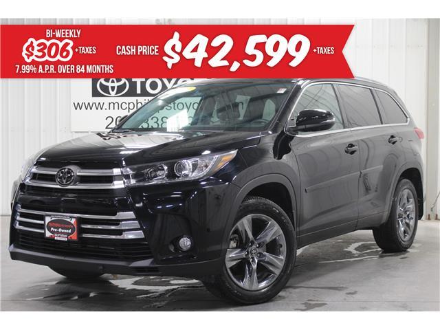 2018 Toyota Highlander Limited (Stk: 5912114A) in Winnipeg - Image 1 of 30