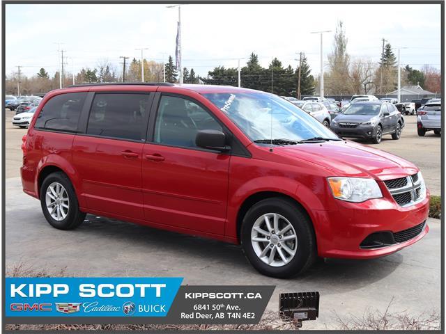 2014 Dodge Grand Caravan SE/SXT 2C4RDGBG3ER307898 07898U in Red Deer