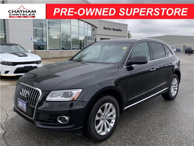 2015 Audi Q5 2.0T Progressiv (Stk: U04812) in Chatham - Image 1 of 20