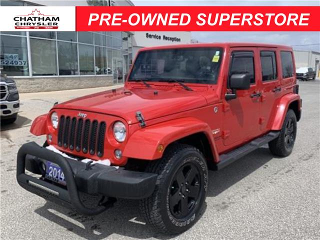 2014 Jeep Wrangler Unlimited Sahara (Stk: U04751A) in Chatham - Image 1 of 19
