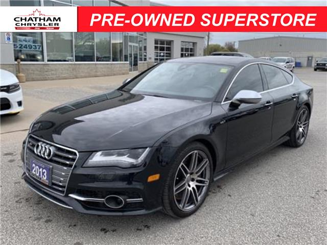 2013 Audi S7 4.0T (Stk: U04799) in Chatham - Image 1 of 23