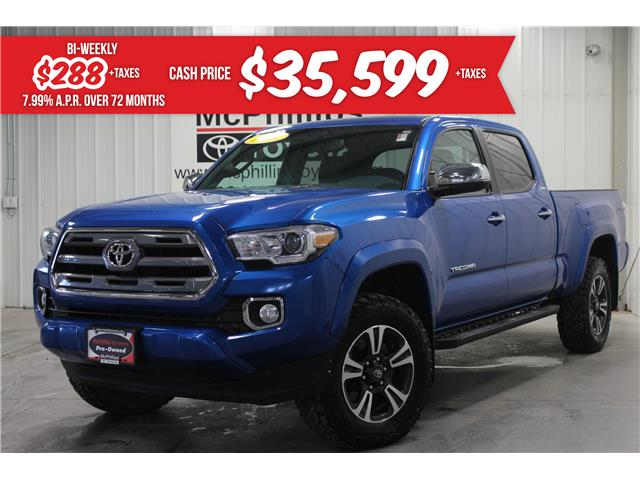 2016 Toyota Tacoma Limited (Stk: X061150A) in Winnipeg - Image 1 of 26