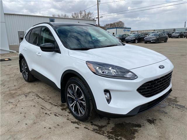 2021 Ford Escape SEL (Stk: 21157) in Wilkie - Image 1 of 25