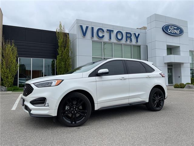 2020 Ford Edge ST (Stk: VEG19534) in Chatham - Image 1 of 16