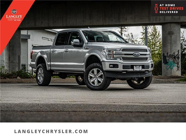 2019 Ford F-150 Platinum (Stk: M501251A) in Surrey - Image 1 of 30