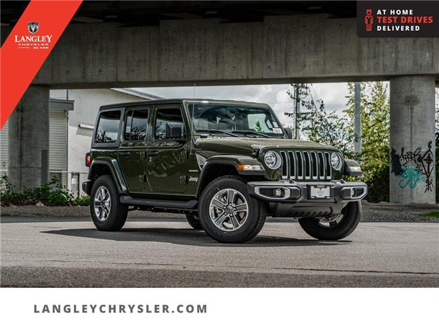 2021 Jeep Wrangler Unlimited Sahara (Stk: M679140) in Surrey - Image 1 of 25