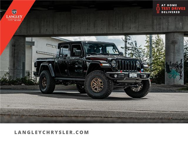 2021 Jeep Gladiator Rubicon (Stk: M549645) in Surrey - Image 1 of 28